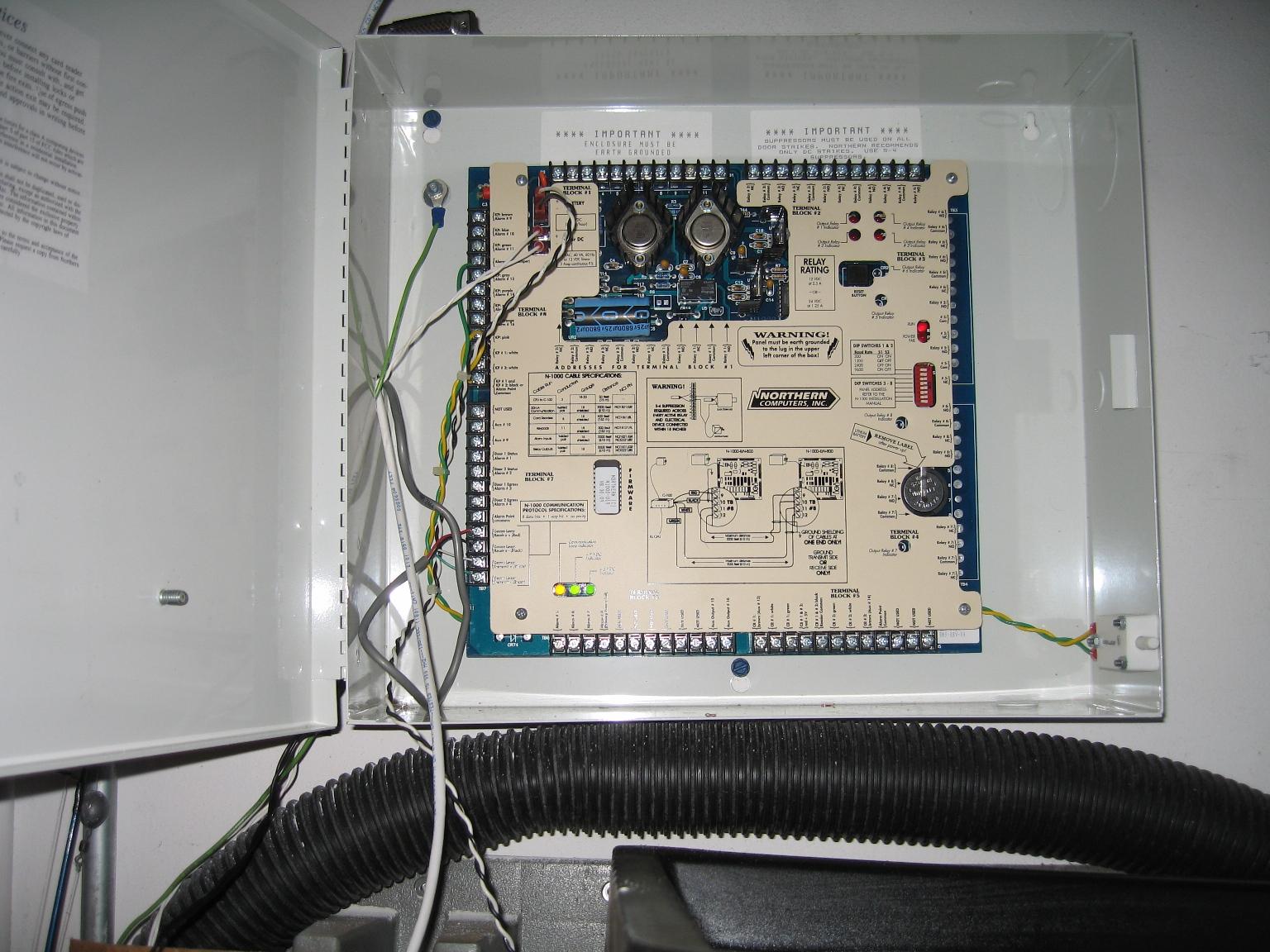 Wiring in Progress