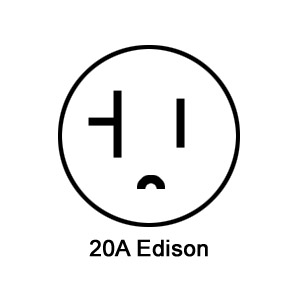 20A Edison