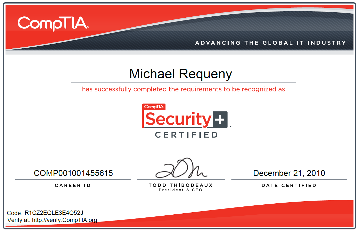 Passed comptia security mikes realm reddit xflitez Choice Image