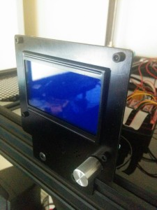 Cobblebot LCD Controller fixed bracket